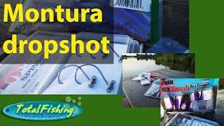 Pescuit cu montura dropshot