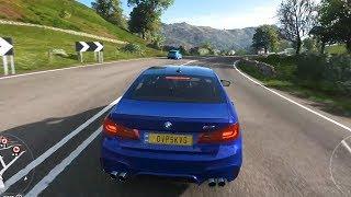 Forza Horizon 4 - BMW M5 2018 - Open World Free Roam Gameplay (HD) [1080p60FPS]
