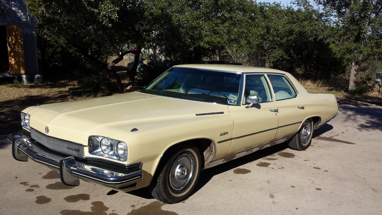 1973 Buick Lesabre Classic Vintage Car Youtube