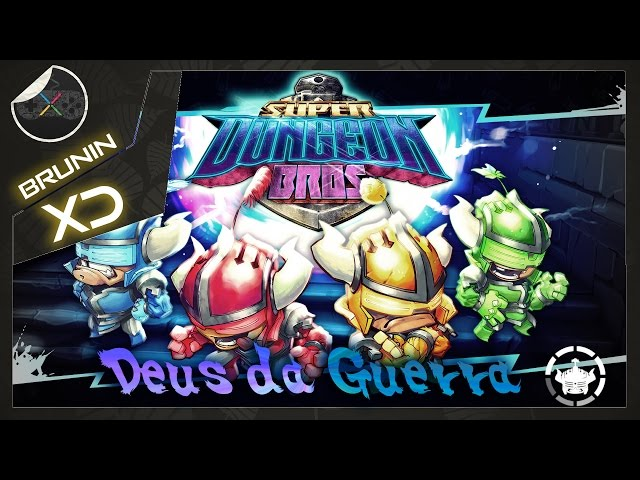 Super Dungeon Bros - Deus da Guerra
