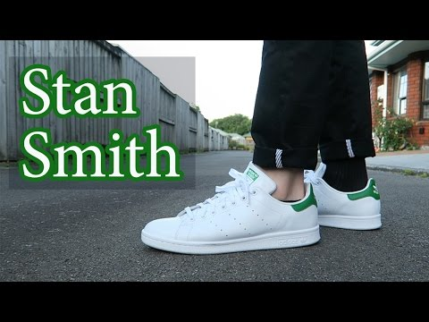 Adidas Stan Smith Close Up & On-Feet with Different Pants