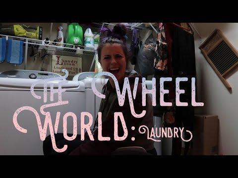 WASHING MY OWN CLOTHES | THE WHEEL WORLD | STRACHAM820