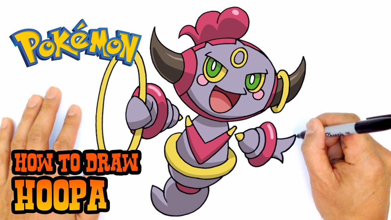 How To Draw Hoopa Pokemon YouTube