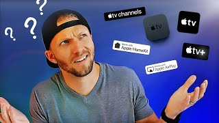 WHY SO CONFUSING?  Apple TV, Apple TV+, Apple TV app, Channels, HomeKit & AirPlay... EXPLAINED