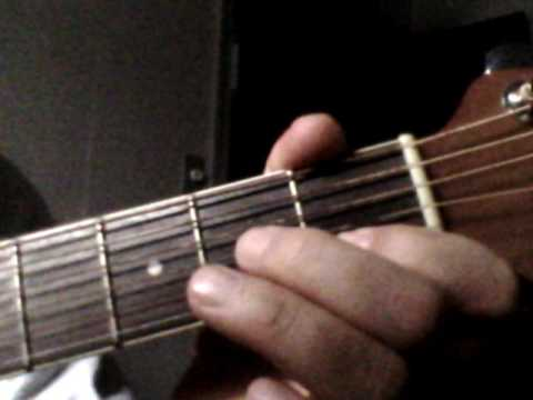 Am7 Chord How To Play Guitar Tutorial Very Easy Instruction Lesson