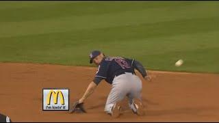 【MLB】メジャーの二遊間の変態ダブルプレー集 thumbnail