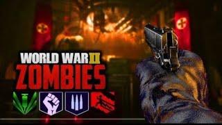 COD WW2 Zombies Solo Fun Run