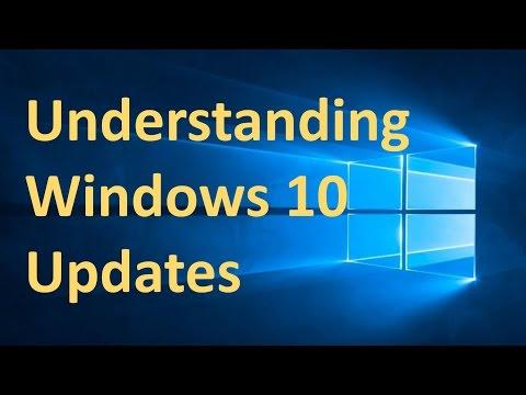 Understanding Microsoft Updates for Windows 10 #008