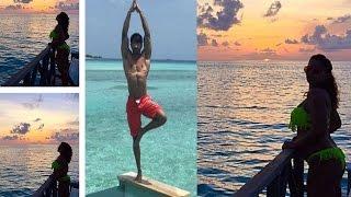 Bipasha Basu & Karan Singh Grover Sizzling Love In Maldives | Watch Video