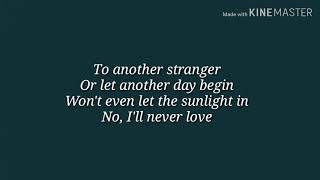 Lady Gaga- I'll Never love again (Extended Version) Lyrics Video