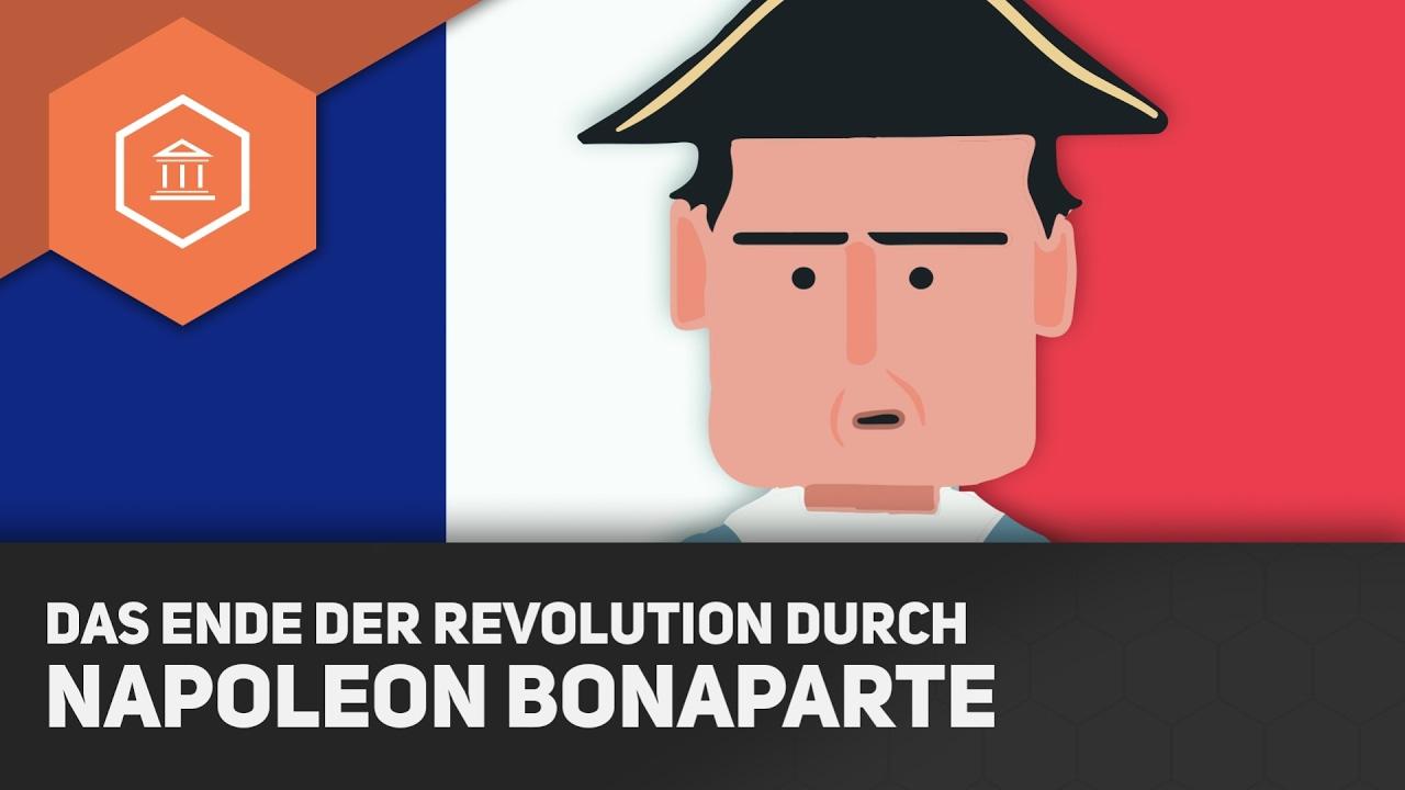 Das Ende Der Revolution Durch Napoleon Bonaparte Die Französische