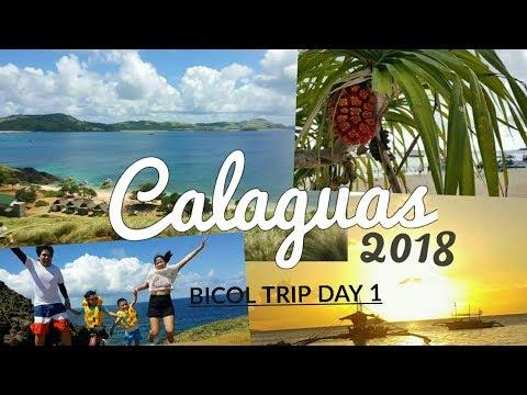 Calaguas Island 2018 | BICOL TRIP Day 1