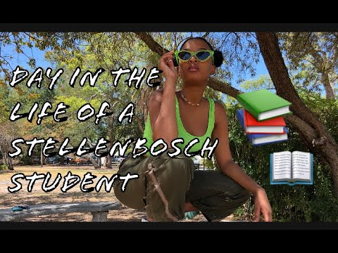 Day in the Life of a Stellenbosch University Student   VLOG