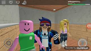 I flew in the ROBLOX elevator