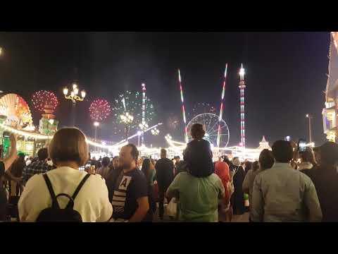 National Day fireworks at Global Village