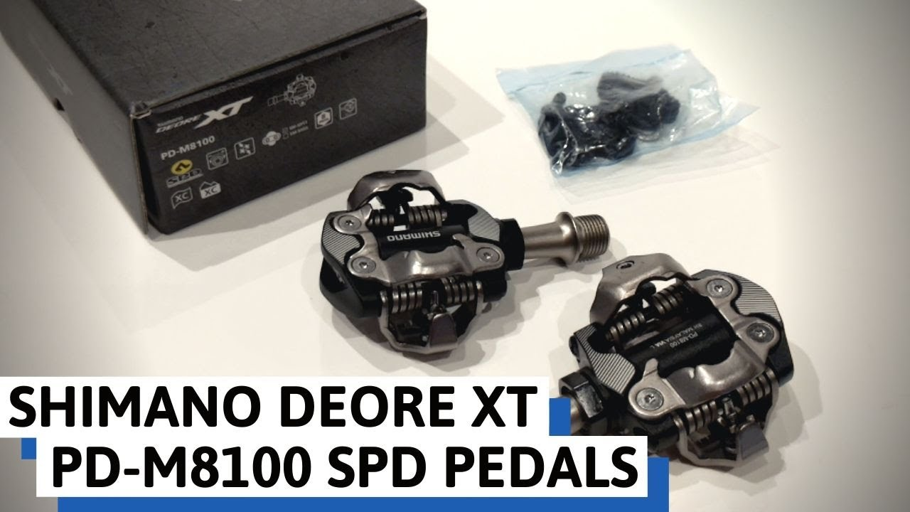 MTB shimano xt pedals pd-m8100 NEW c//Cleat
