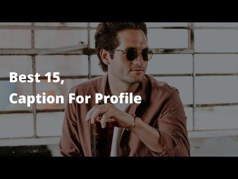 Caption For Facebook/Instagram Profile Pic. 2020 Part-2