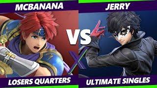 Smash Ultimate Tournament - McBanana (Roy) Vs. Jerry (Joker) S@X 333 SSBU Losers Quarters