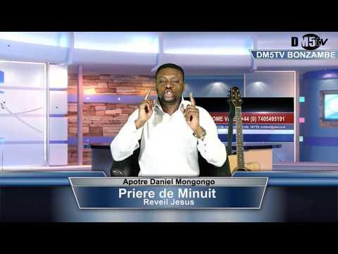 """APOTRE DANIEL MUNGONGO THEME""""PRIERE DE MINUIT"""