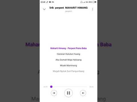 Lirik Perpent Maharit Himang