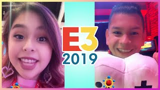 Baby Cupquake Goes To E3