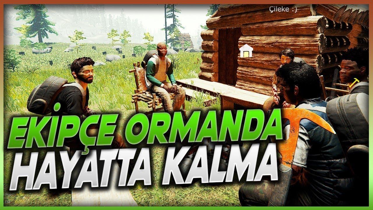JİLET AİLESİ ORMANDA ! The Forest Bölüm 1