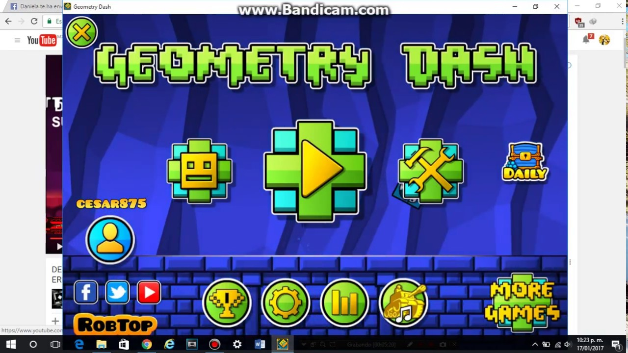 Como Instalar Y Jugar Geometry Dash 2 1 En La Pc Mediafire Youtube