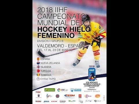 2018 IIHF ICE HOCKEY W.C. Div. II Group B  ROU - TPE