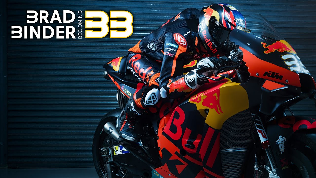 Brad Binder Becoming 33 Full Length Documentary Available Now Youtube