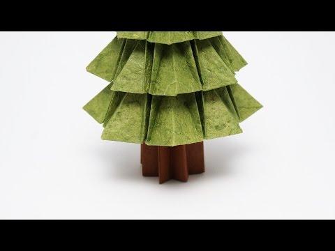 ORIGAMI TREE TRUNK (Jo Nakashima)