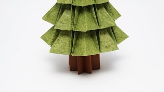 How to make an easy origami trunk for the origami Tree. It is easie...