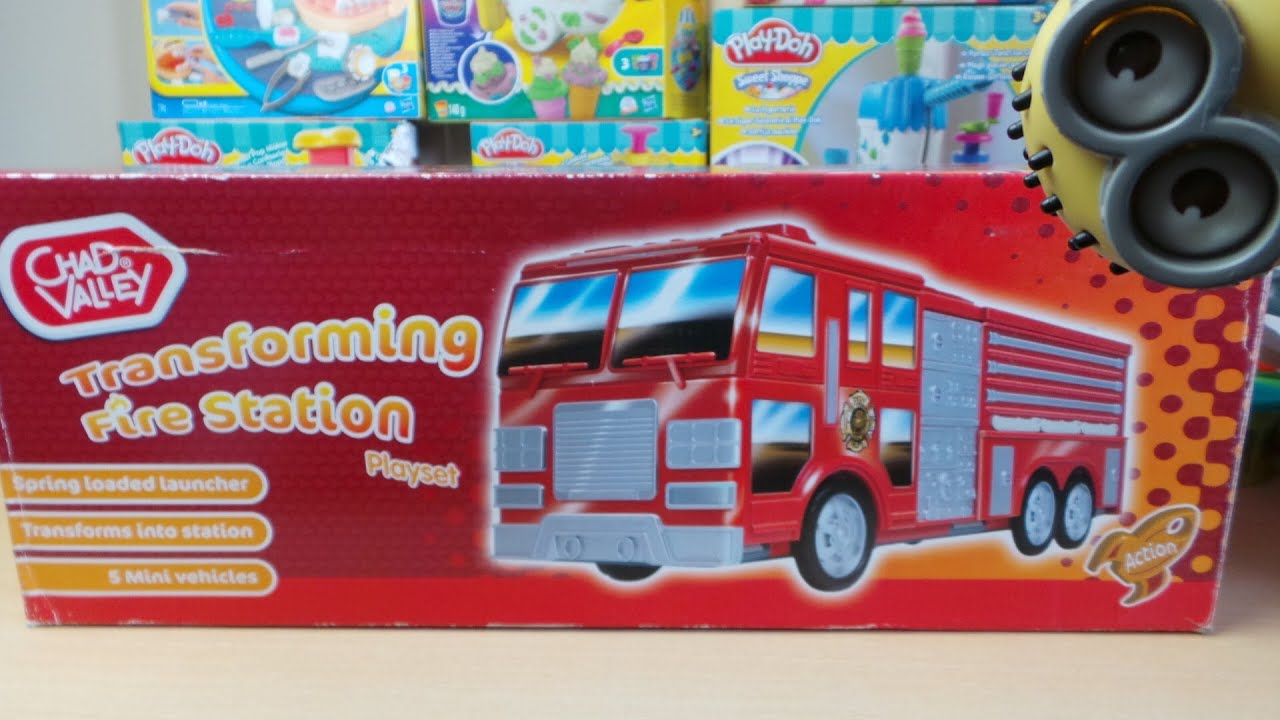 Very Rare Toy The Transforming Chad Valley from UK Fire Engine and Station - YouTube & Very Rare Toy The Transforming Chad Valley from UK Fire Engine and ...