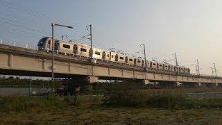K8555열차 부전-일광 광역전철 (오시리아역 출발)
