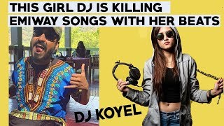 This female DJ is killing Emiway Song with her Insane Beats | Dawat | Machayenge