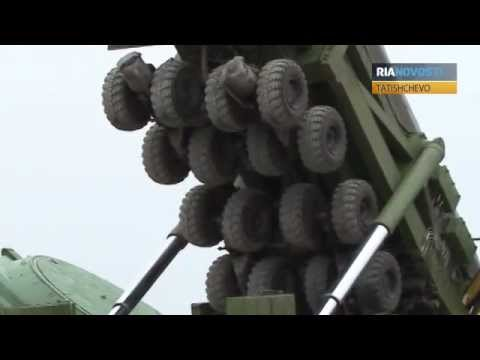 Topol Ballistic Missile Lowered into 30 Meter Deep Silo