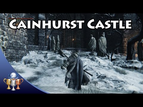 Bloodborne - How to get to Cainhurst Castle -  Location Trophy Guide