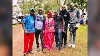 Creatives stand with John Ssegawa as the drama actor buries his father