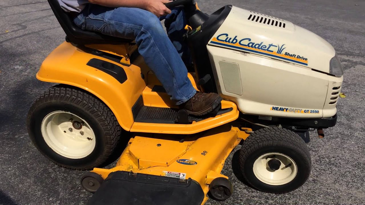 Cub Cadet Gt2550 Sold On Els Youtube