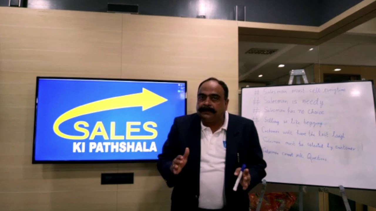 7 Myths of Selling - Sanjay Singh | Sales Coach | Sales Training