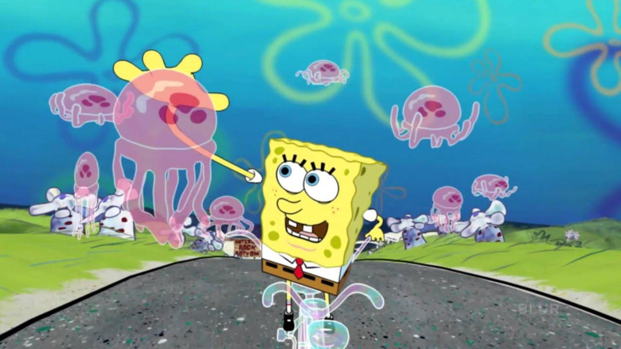 spongebob squarepants 4-d: ride - youtube
