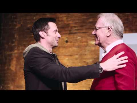 Hugh Jackman's Priceless Reunion