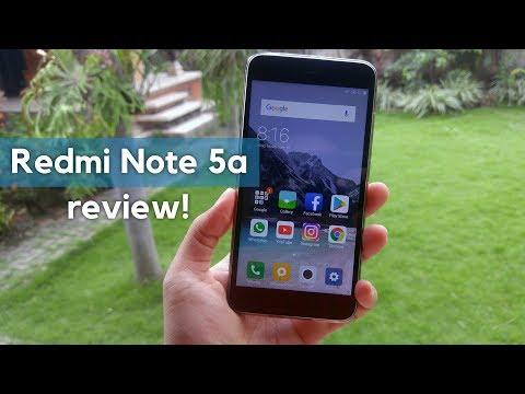 Redmi Note 5a TAM Review Indonesia - Hape Sejutaan Terbaik 2017?
