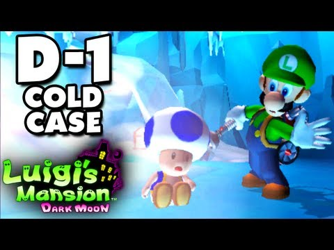 Luigi's Mansion Dark Moon - Secret Mine - D-1 Cold Case (Nintendo 3DS Gameplay Walkthrough)