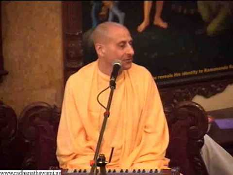 Sunday Feast - Learning lessons from Vaishnava dealings - Radhanath Swami on 2013-01-20