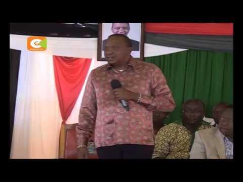 Kenyatta blames Odinga for 2007/2008 violence