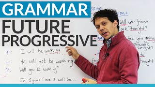 Learn To Make Plans With The Future Progressive Tense