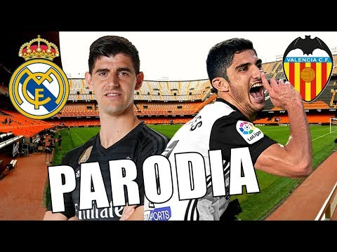 Canción Valencia vs Real Madrid 0-2 (Parodia Mala)