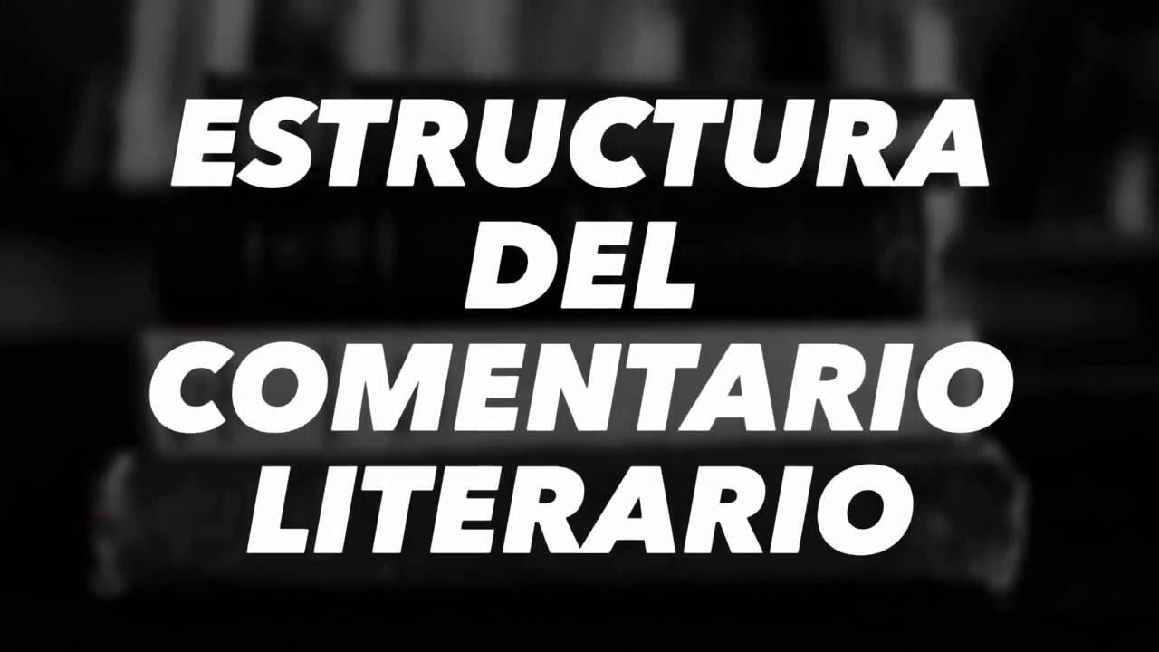 Estructura Del Comentario Literario Cuento Latinoamericano