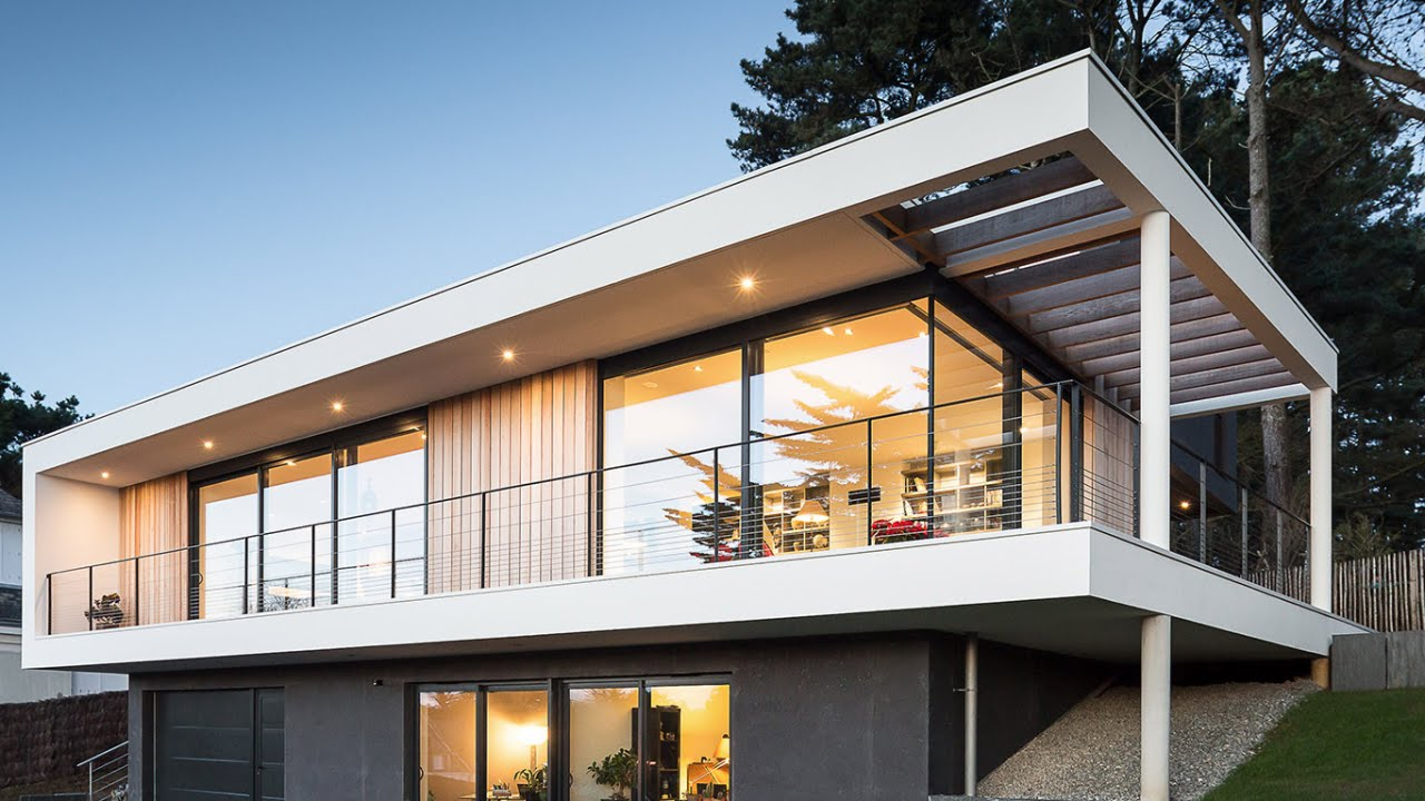 8 Modern Homes in France (French Architecture + Interior Design) - YouTube