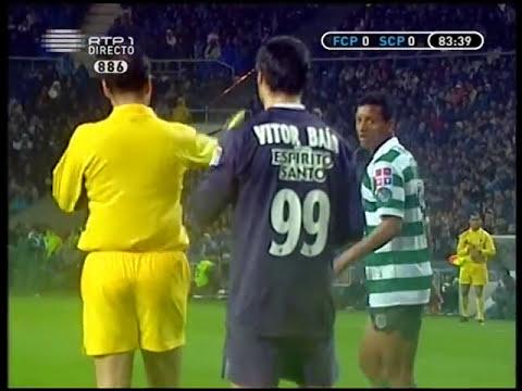 Porto - 1 x Sporting - 1 (5-4 P) de 2005/2006, 1/2 Final Taça de Portugal